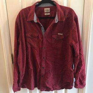 Lucky Brand flannel button down shirt